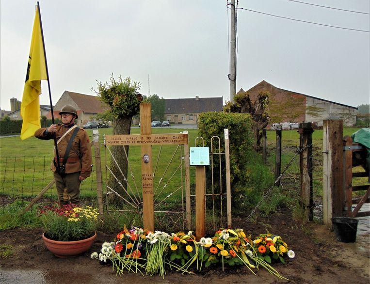 Aan de hoeve waar Reyns werd terechtgesteld werd een gedenkteken onthuld.