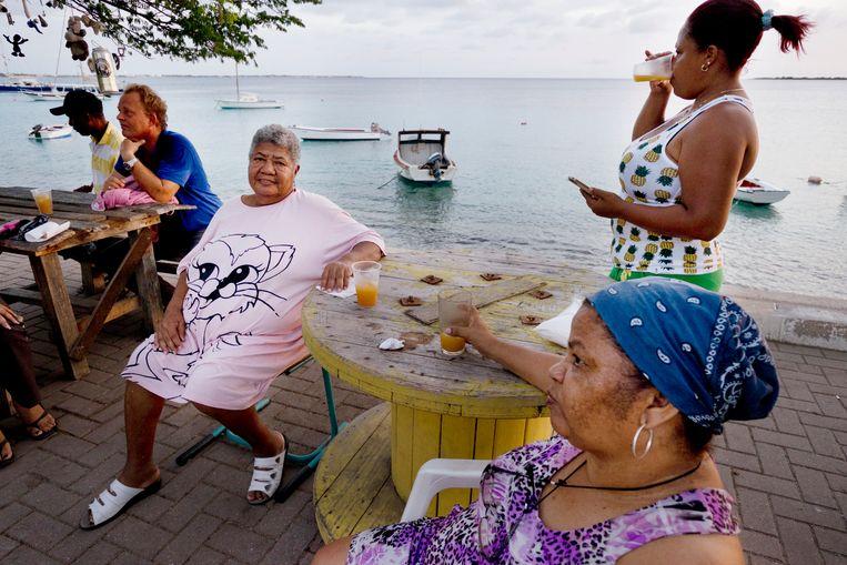 Bewoners van het eiland Bonaire in het Caribisch gebied. Beeld An-Sofie Kesteleyn