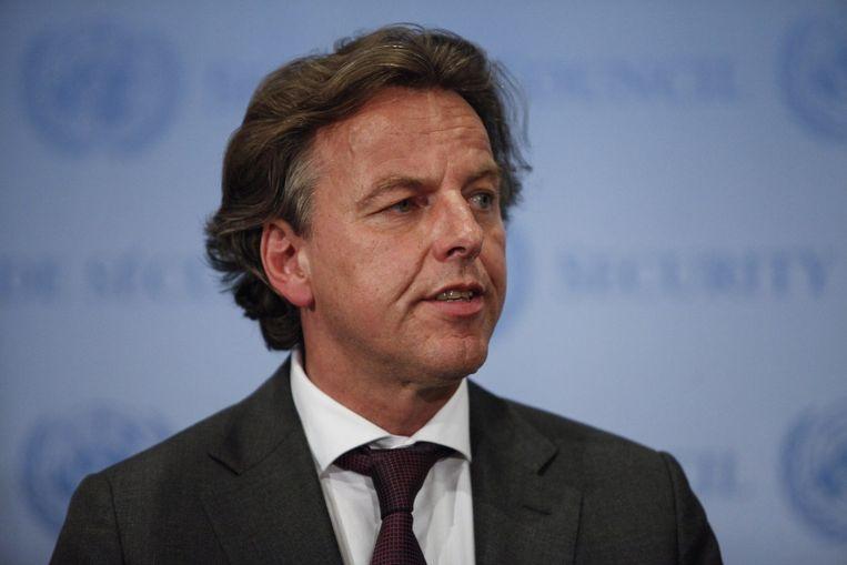 Minister Koenders. Beeld afp