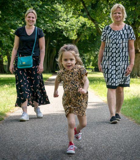 Lexie (4) uit Vught werd een 'nieuw kind' dankzij de nier van oma, familie benadrukt het belang van de nieuwe donorwet