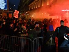 Manifestation anti-Polanski violente devant le tapis rouge des César