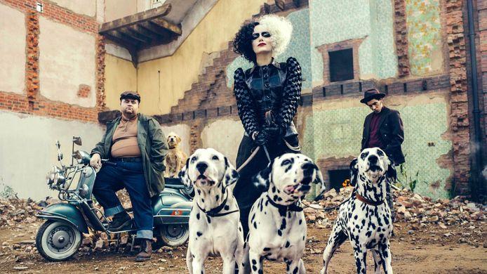 Cruella met Emma Stone als Cruella de Vil is vanaf 28 mei te zien op Disney+.