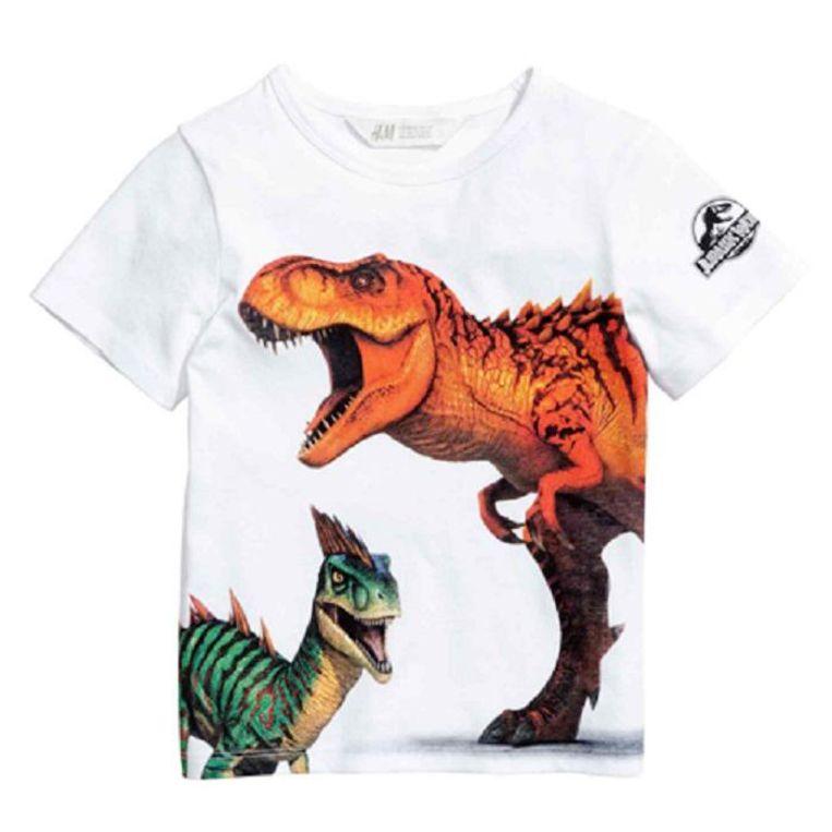 Een t-shirt voor jongens Beeld