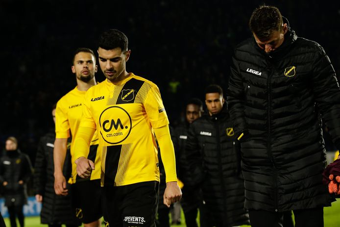 (L-R) Khalid Karami of NAC Breda, Theo Zwarthoed of NAC Breda during NAC Breda - FC Emmen NETHERLANDS, BELGIUM, LUXEMBURG ONLY COPYRIGHT BSR/SOCCRATES