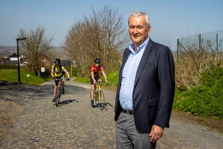 Philippe Willequet (69), burgemeester van Kluisbergen. Beeld Jan De Meuleneir / Photo News