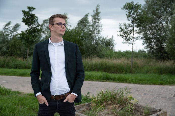 Wethouder Mathijs ten Broeke.
