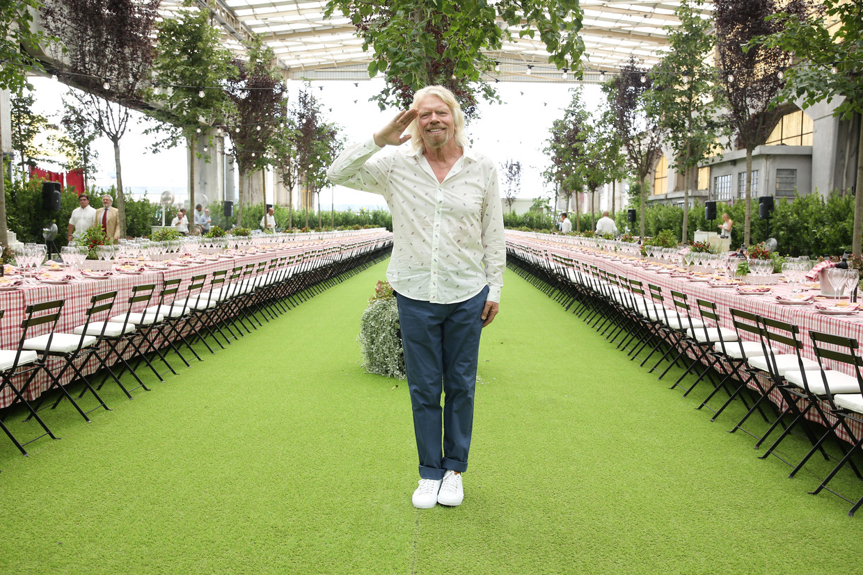 Richard Branson: 'Mijn ondernemersbrein bedenkt manieren om problemen op te lossen die burgers, bedrijven en de wereld ten goede komen.'  Beeld Getty