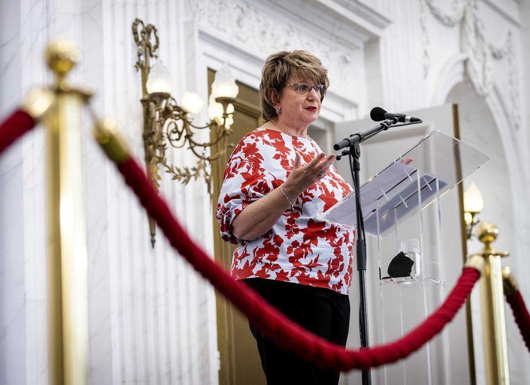 Informateur Mariette Hamer: 'De formatie over de inhoud is pas twee weken geleden begonnen.' Beeld ANP