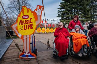 fotoreeks over Wachtebeke hélemaal in Warmste Week-stemming