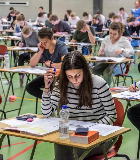 Deze leerlingen slagen (of niet) zonder examenstress, maar ook zonder feest