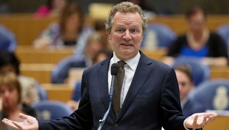 GroenLinks-leider Bram van Ojik. Beeld anp