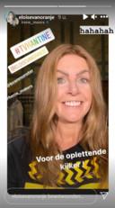 Eloise van Oranje deelt een foto van Moors als de 'gravinfluencer'