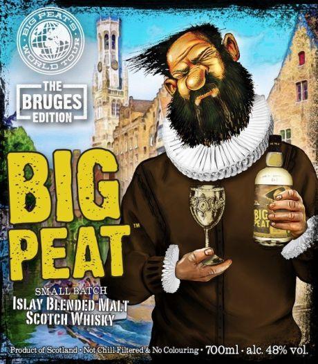 En plots staat Brugge op etiket van bekend whiskymerk