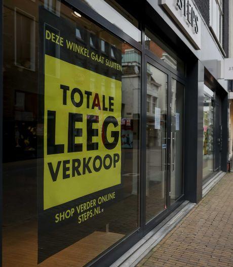 Aantal winkels vorig jaar iets afgenomen