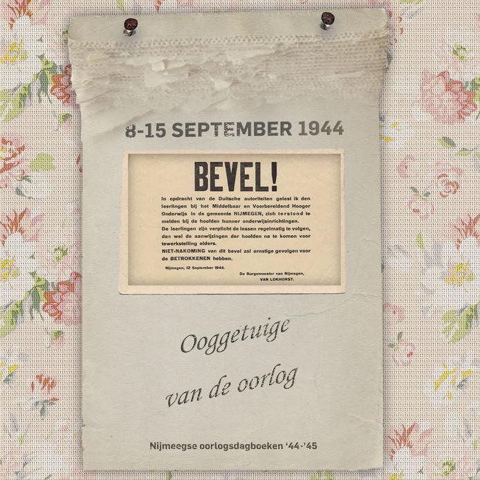 Oooggetuige van de oorlog - Nijmegen oorlogsdagboeken '44-'45 - Joost Rosendaal