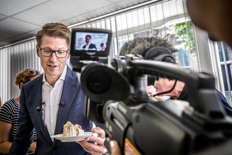 Sander Dekker, in het vorige kabinet staatssecretaris van Onderwijs. Beeld anp