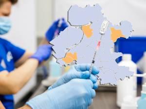 KAART | Coronabesmettingen dalen en dalen en kleurenkaart wordt lichter, maar Ommen van 0 naar 11