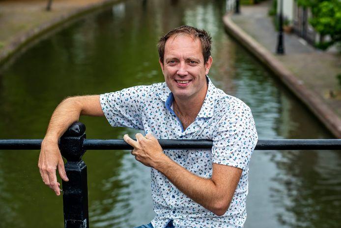 Peter Koop, verslaggever van het Utrechts Nieuwsblad.