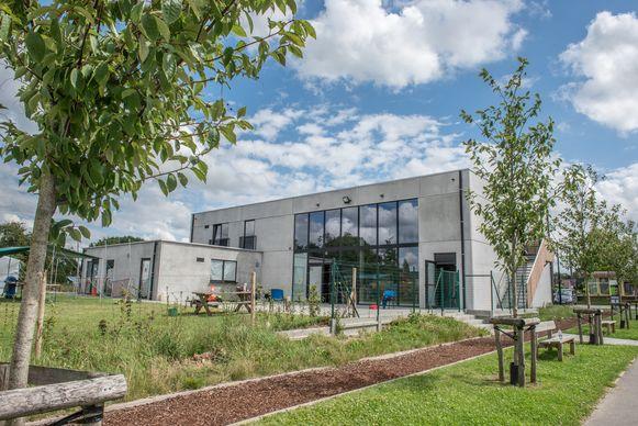 Het jeugdlokaal Ter Wijl aan de Sportlaan in Munkzwalm is de thuisbasis van scouts en Chiro.