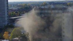 Veel rook bij brand in UZ Gent: 9 arbeiders lichtgewond, geen patiënten geëvacueerd