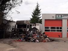 Buurt helpt aan vuurzee ontsnapte trucker (46) uit Bergen op Zoom: 'Zijn gezicht was helemaal verbrand'