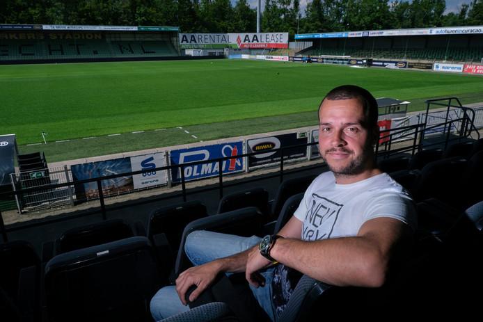 Jordy Valkestijn van FC Dordrecht wil het tweede officiële amputatieteam van Nederland oprichten.