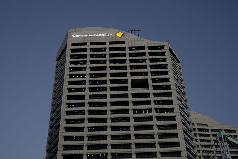 Een kantoor van de Commonwealth Bank in Sydney, Australië.  Beeld REUTERS