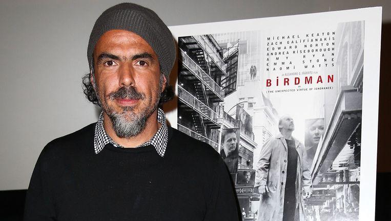 Regisseur van 'Birdman' Alejandro Gonzalez Inarritu. Beeld AFP