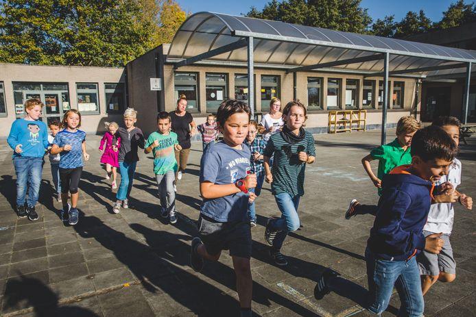 Basisschool Mijlpaal in Drongen.