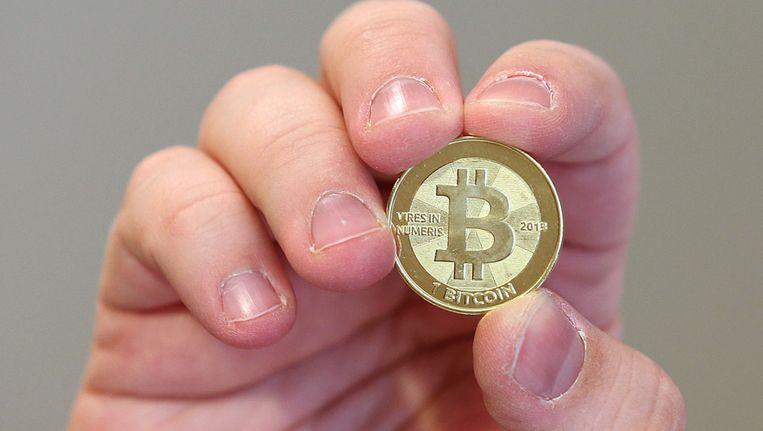Een bitcoin Beeld GETTY