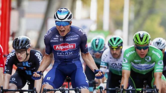 Fabio Jakobsen ziet grootste concurrent uit de Vuelta stappen
