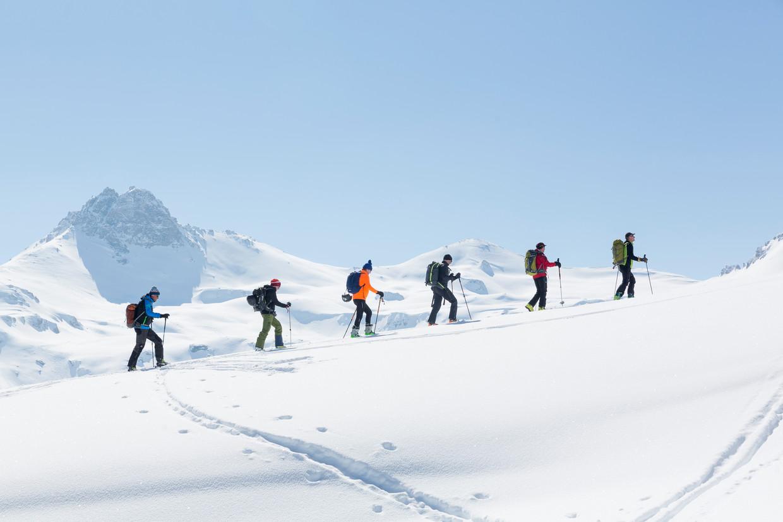 Op weg naar de  Pas de Lovégno (2.690 m).