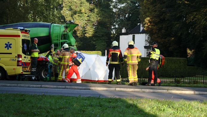 Het ongeluk gebeurde op de Oude Rijksweg in Putten.
