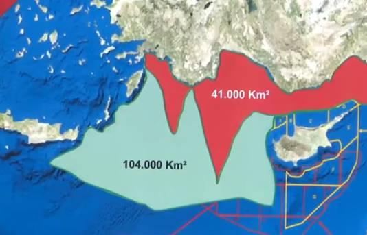Het ligt 125 kilometer ten oosten van Rhodos - zo'n drie uur varen langs de Turkse kust. Die ligt op twee kilometer van Kastellorizo, de stad Kas op nog geen vier.