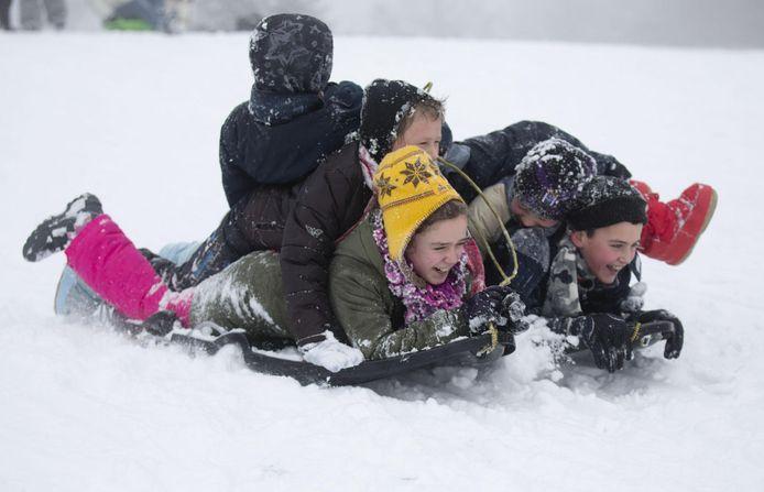 Vanaf volgende winter kunnen kinderen in Beernem zich ook uitleven in zogenaamde sneeuwstraten waar niet gestrooid zal worden.