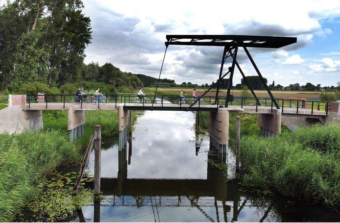 De renovatie van brug Jannezand bij Hank is afgerond.