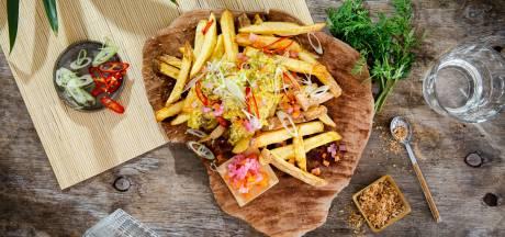 Wat Eten We Vandaag: Frietje rendang met zoetzure groenten