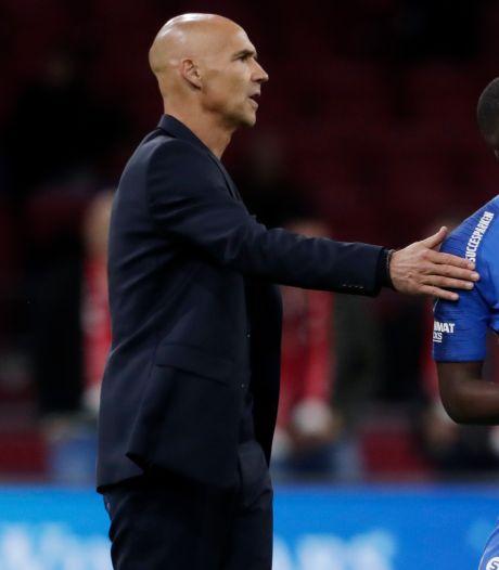 Vitesse-trainer Letsch trots op optreden in Amsterdam: 'Dat overheerst bij mij'