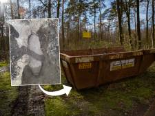 Zeldzame brandbom in bos bij Epse blijkt intact én gewapend: 'Grote kans op bosbrand als-ie afgaat'