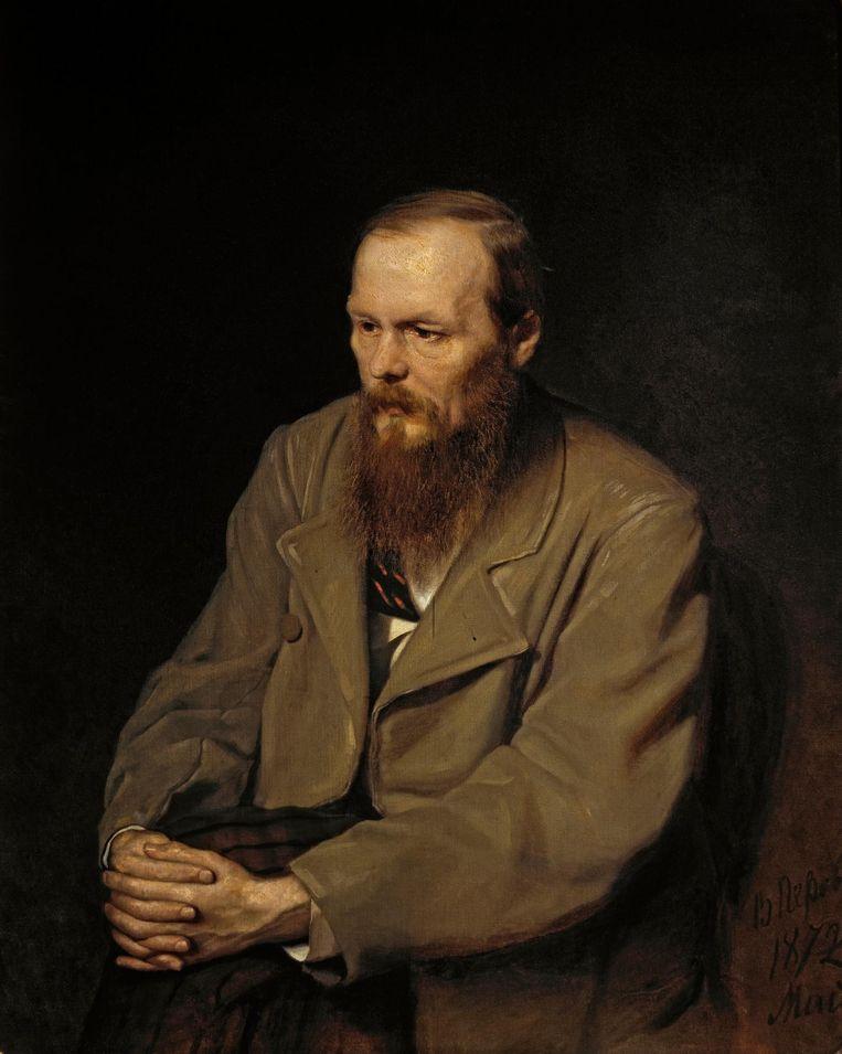 Dostojevski door Vasily Perov Beeld Tretyakov Gallery, Moskou
