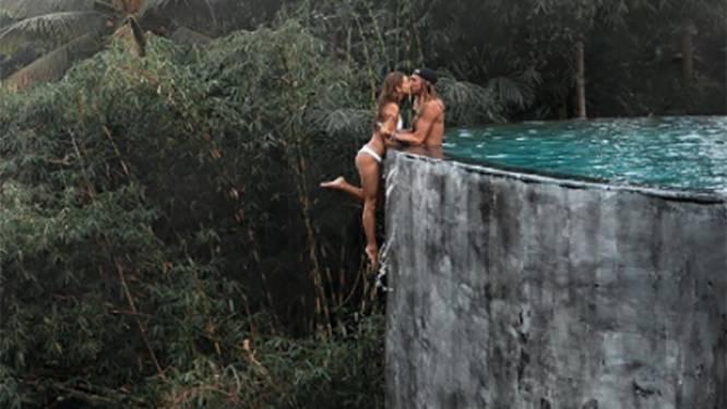 Instagrammers onder vuur voor levensgevaarlijke zwembadfoto