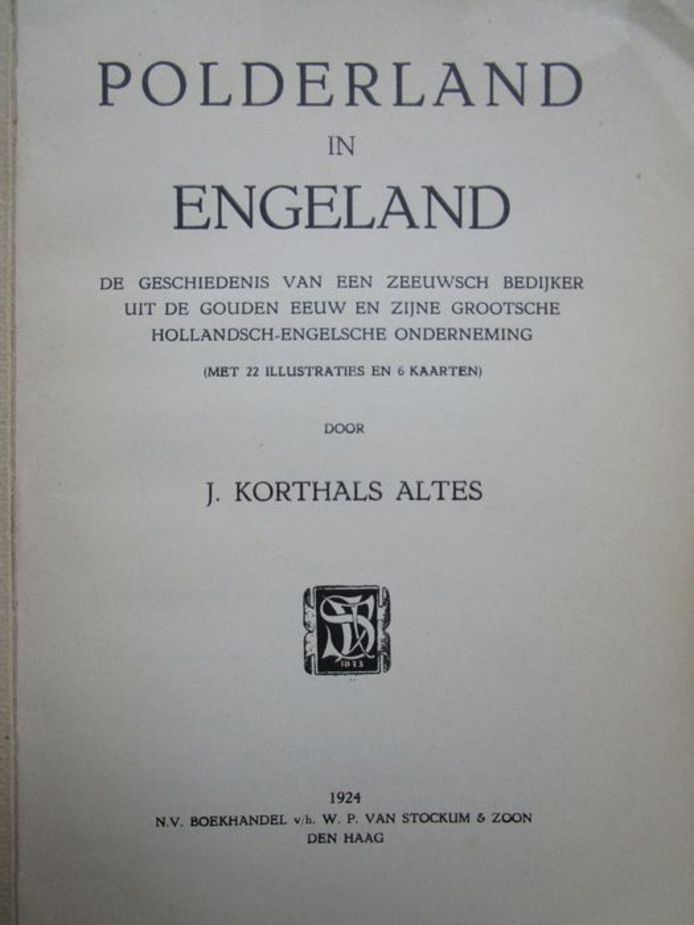 omslag Polderland in Engeland