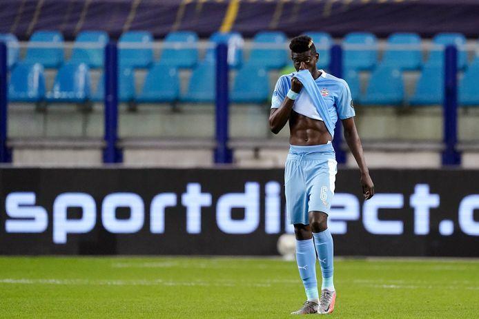 Ibrahim Sangaré baalt van het verlies bij Vitesse.