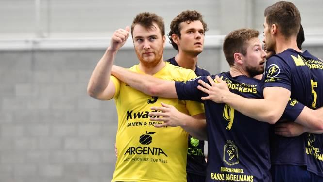 """Bekerduel tussen Amigos Zoersel en Roeselare B was een """"coronawedstrijd"""" met twee ploegen die duidelijk de gevolgen droegen van de lange volleybalpauze"""