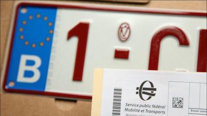 55 per dag: afgelopen drie jaar meer dan 58.000 nummerplaten gestolen