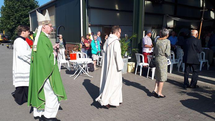 Oogstdankviering met bisschop Gerard de Korte.