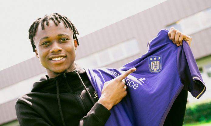 Christian Kouamé tekent bij Anderlecht