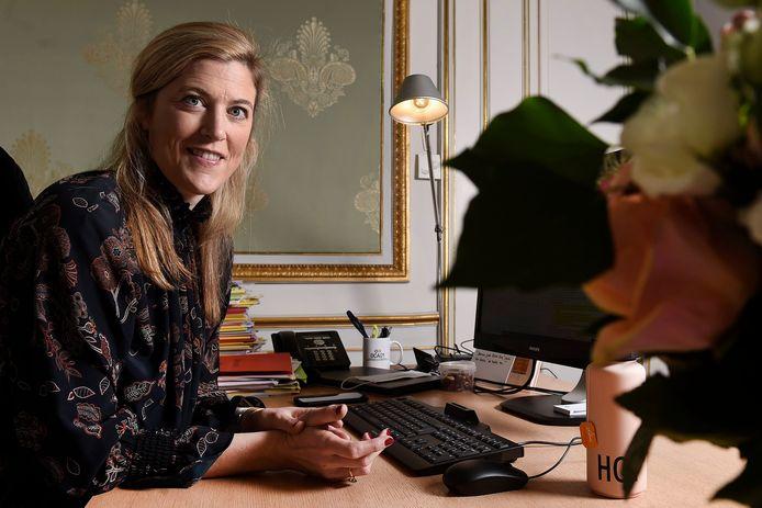 Annelies Verlinden, ministre de l'Intérieur (CD&V).