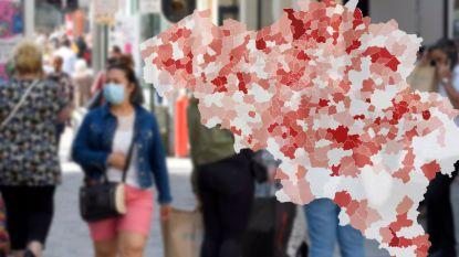 IN KAART. 228 gemeenten hebben nu alarmdrempel bereikt, hoe staat uw regio er voor?