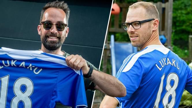 """Tien jaar oude Lukaku-shirts plots de hipste van het stadion: """"Op eBay zwieren? Vergeet het"""""""